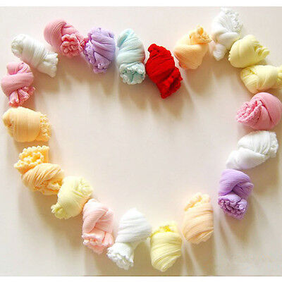5 Pairs Candy Color Socks Newborn Baby Toddler Infant Cotton Blend Summer Chic