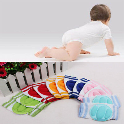 2Pcs Baby Kids Safety Crawling Elbow Cushion Infant Toddlers Knee Pads Protector