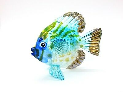 Sea Fish Ocean Hand Blown Blowing Glass Art Animal Fancy Collectible gift  2