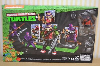 Mega-Bloks Teenage Mutant Ninja Turtles  Bebop Villain Pack  DMW29