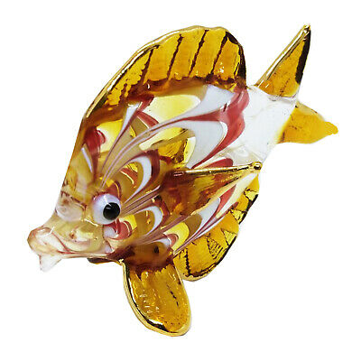 Sea Fish Ocean Hand Blown Blowing Glass Art Animal Fancy Collectible gift 4