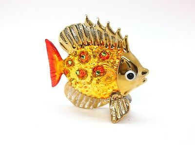 Sea Fish Ocean Hand Blown Blowing Glass Art Animal Fancy Collectible gift 5