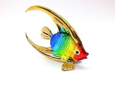 Sea Fish Ocean Hand Blown Blowing Glass Art Animal Fancy Collectible gift 6