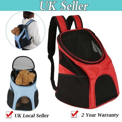 Adjustable Portable Pet Carrier Backpack Travel Outdoor Dog Cat Bag Breathable