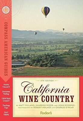Compass American Guides: California Wine Country, 6th Edition, New Books