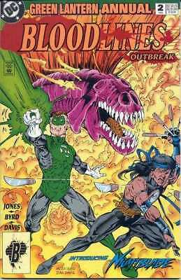 Green Lantern (1990 series) Annual #2 in Near Mint condition. DC comics [*nv]