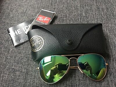 9a3121100eb RAY-BAN MENS DESIGNER Sunglasses Silver Aviator RB 3925 019 72 17609 ...