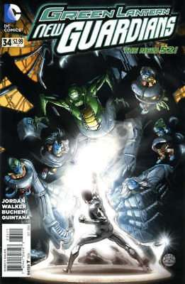 Green Lantern: New Guardians #34 in Near Mint + condition. DC comics [*gn]