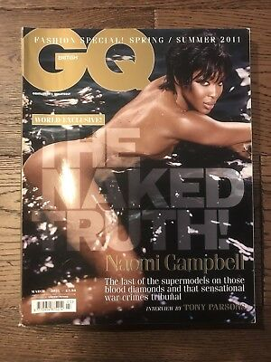 British GQ Magazine - March 2011 (Naomi Campbell)