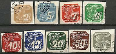 Germany Reich Bohemia/Moravia 1939 Used - Newspaper Issues Imperforate