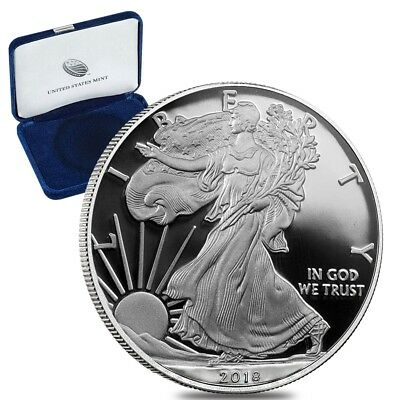 2018-W American Silver Eagle Proof (OGP & Papers)