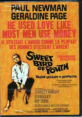 Sweet Bird of Youth (DVD, Canadian) Brand New Paul Newman