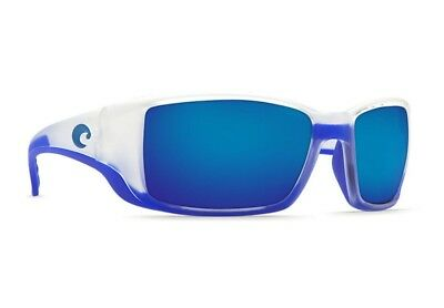 4c4858b2aeb0 Costa Del Mar Blackfin Polarized Sunglasses Matte Crystal/blue Trim/mirror  400G