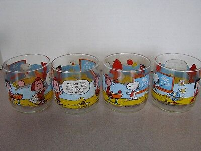 4 Charlie Brown Peanuts Too Smart for My Own Good School 1971 Glasses
