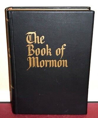 Leather Giant Large Print Book of Mormon Reference Edition with Art Masterpieces