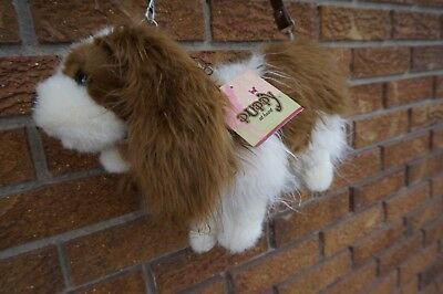 PURSE Plush Bag King Charles Cavalier Spaniel Dog Puppy at Heart Girls Stuffed