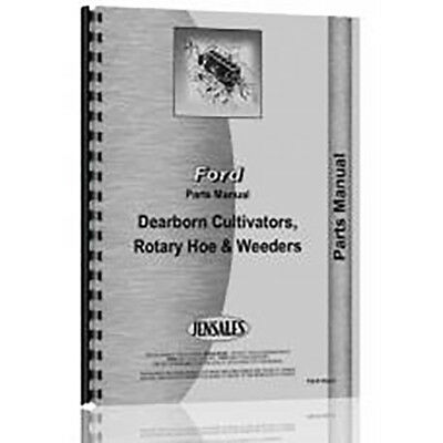 Parts Manual For Dearborn Rotary Hoe Cultivator (Model 13-10 and 13-35 - Rare)
