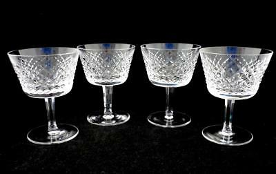 """4 - Alana - Liquor Cocktail Glasses - 4"""" - Waterford Crystal"""