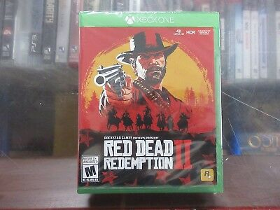 BRAND NEW Red Dead Redemption 2 -Standard Edition (Microsoft Xbox One, 2018)