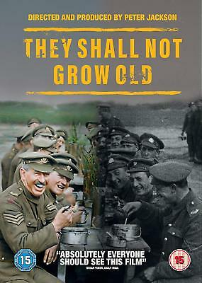 They Shall Not Grow Old [DVD] [2018] New DVD / Free Delivery
