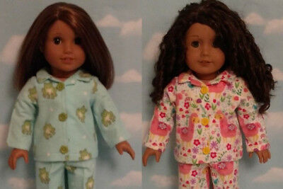 "Pajamas Doll Clothes for 18"" American Girl doll 414ab"