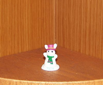 1991 Hallmark Merry Miniature Snow Bunny Christmas