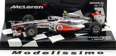 1:43 Minichamps McLaren Mercedes MP4/26 Button 2011