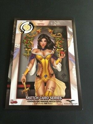 2018 5FINITY SDCC GRIMM Universe Factory Sealed Sketch Card Pack 1 Of 500 Packs