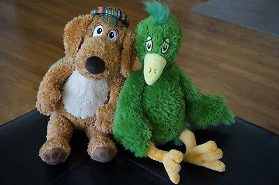 PLUSH Seuss Kohls Cares Oh Can You Say Green Bird Stuff Animal Doll Go Dog Lot