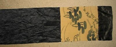 Vintage Japanese Silk  Long Scarf Good Condition