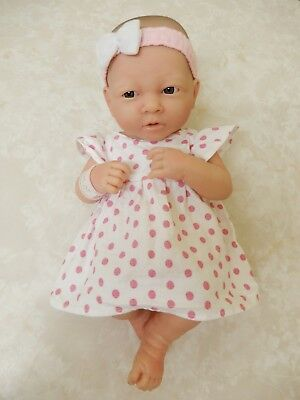 Berenguer La Newborn Baby Doll Female Pink Dress 35Cm Brand New Condition