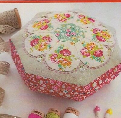 PATTERN - Blossom Pincushion -  Creative Cards mini PATTERN - Lilabelle Lane