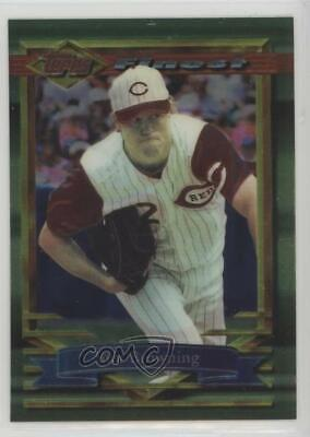 1994 Topps Finest #337 Tom Browning Cincinnati Reds Baseball Card