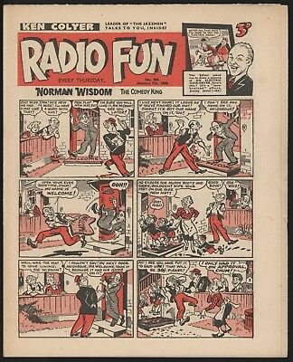 Radio Fun #900 Nce Condition Scarce Comic From A Significant Collection