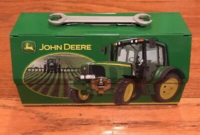 John Deere Tin Lunch Box With Wrench Handle