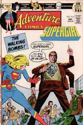Adventure Comics (1938 series) #413 in Very Fine + condition. DC comics [*br]