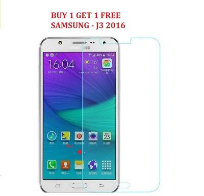 For Samsung Galaxy J3 2016 -100 % Genuine Tempered Glass Screen Protector