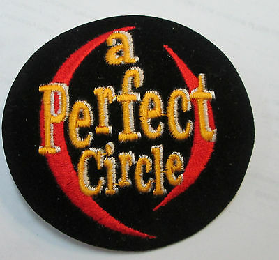 bfbe16bacee Perfect Circle Collectable Rare Vintage Patch Embroided 90 s Metal Live Tool