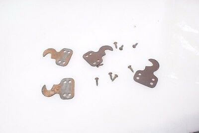 Singer Treadle Cabinet Drawer Brackets & Screws