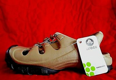 b0822cdb3e39 CROCS TrailBreak Water Hiker Clog Sandals Unisex Mens Size 6 Womens Size 8  Khaki