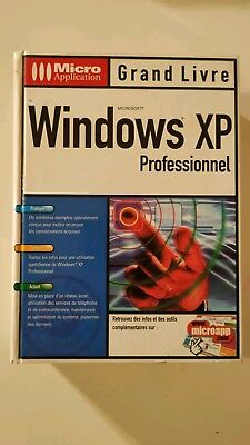 windows xp professionnel grand livre micro application