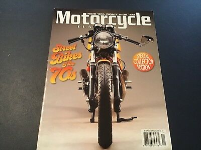 Motorcycle Classics Magazine- Street Bikes of the 70's-  Collectors Edition