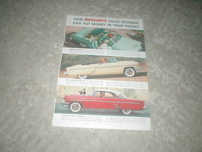1954 Mercury magazine ad from National Geographic