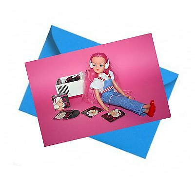 Retro Sindy Doll Card / birthday