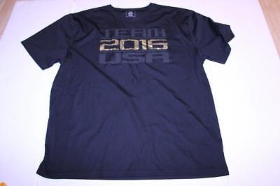 Men's Team USA Olympics 2XL Athletic Performance Shirt (Black) Olympics Team App