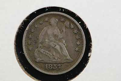 1857 Seated Liberty Half Dime XF 88HS