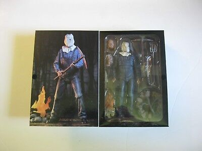 """Neca Friday 13Th  Part 2 Ultimate Jason Voorhees 7"""" Figure 100% Authentic Sealed"""
