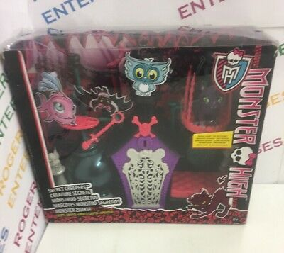 Monster High Secret Creepers Creatures Set - New Box Poor