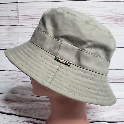 Burberry London Womens Gray Bucket Hat M Made In England Fashion Detective  -01 20ee124408