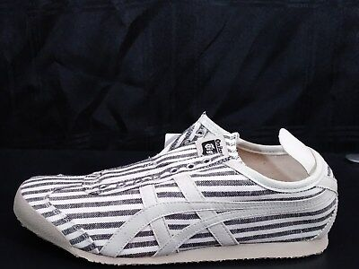 promo code 3fd34 c4fb5 ASICS ONITSUKA TIGER Mexico 66 Slip-On Sneakers Black/ Off White- Unisex -  WMN 9